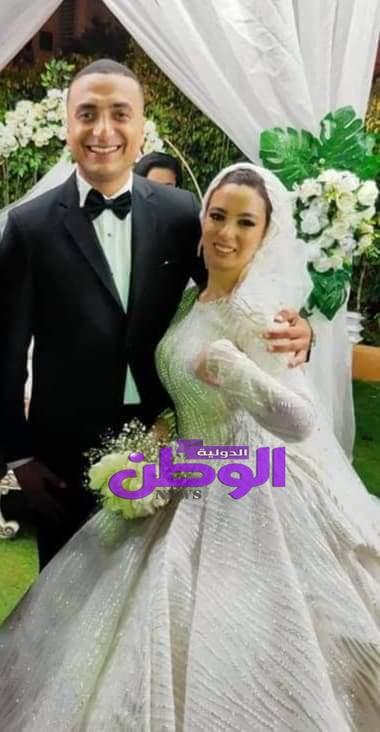 تهنئة خاصة للعروسين بمناسبة الزفاف السعيد