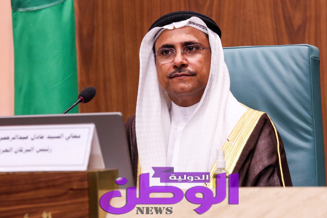رئيس البرلمان العربي: نؤكد على تضامننا التام مع جمهورية مصر العربية والسودان بشأن أزمة سد النهضة